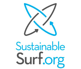 Sustainable Surf logo - Greg Long